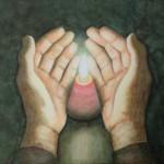 Handen aquarel