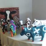 workshop koeien beschilderen.